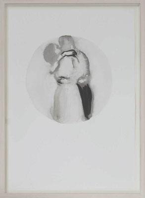 Senza titolo 4, 2012 - inchiostro di china su carta, 50x35 cm