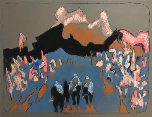 Hanami - 2020, 50 x 65 cm
