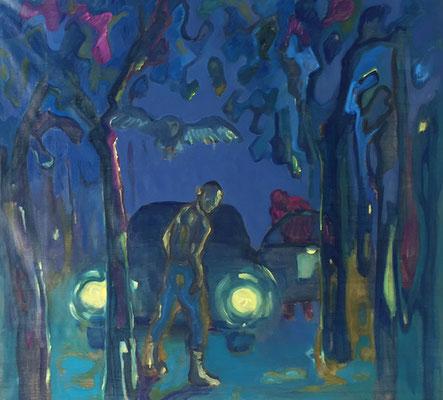2018 – oil on canvas, 110 x 120 cm