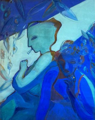 Elena Ricci -2020, oil on canvas, 100 x 85 cm