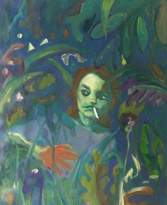 Gena - 2018 – oil on canvas, 80 x 63 cm