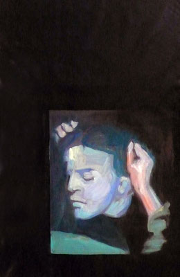 Giuditta - 2015, 90x60 cm, oil on canvas