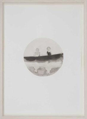 Senza titolo 2, 2012 - inchiostro di china su carta, 50x35 cm