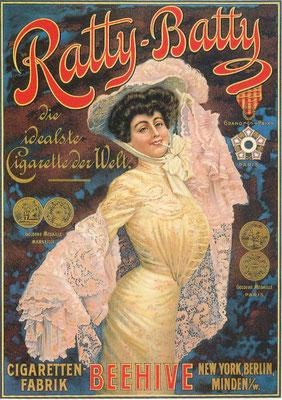 Werbeplakat von 1910