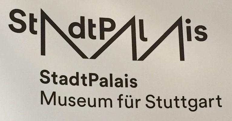 Logo des Stadtpalais, etwas verunglückt
