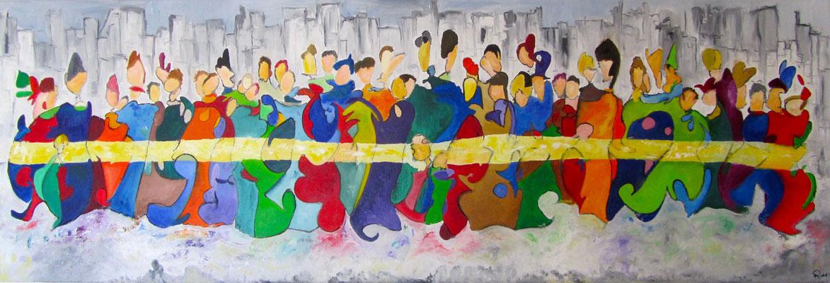 Together IV 150 x 50 cm verkauft