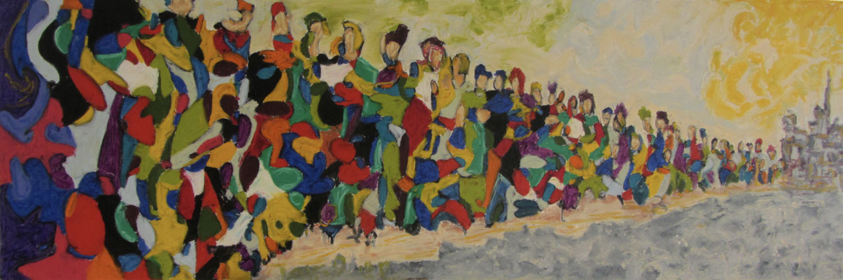 Together XIII 150 x 50 cm