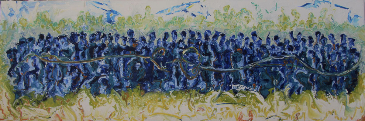 Together XI 150 x 50 cm verkauft
