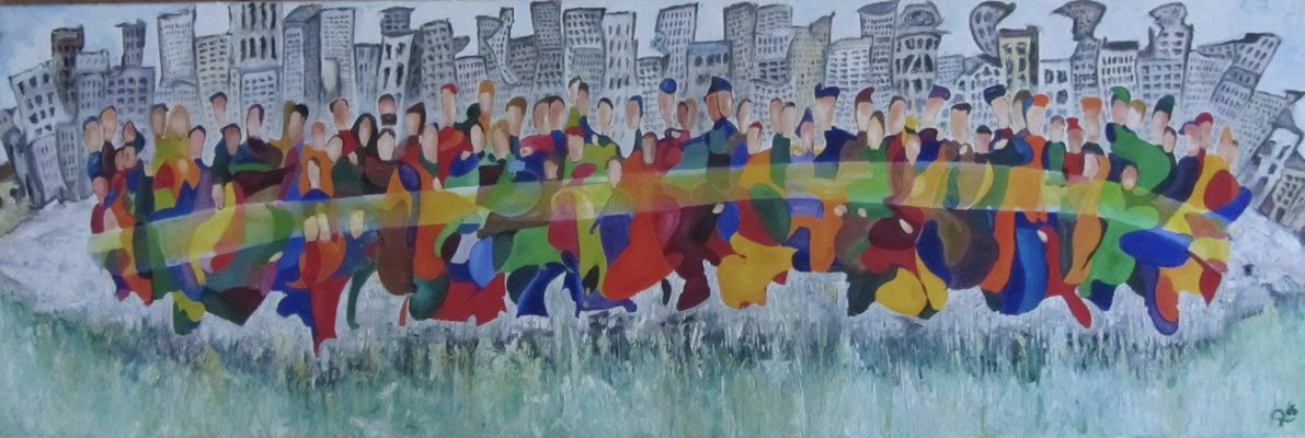 Together V 150 x 50 cm verkauft