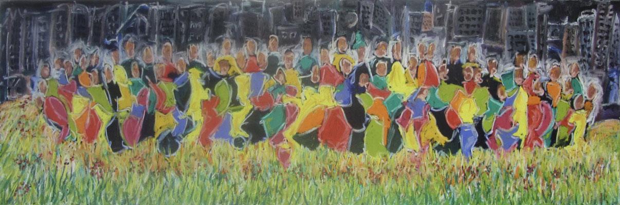 Together XV 150 x 50 cm verkauft
