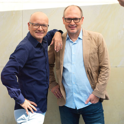 Karsten Schwanke und Christian Hesse in Köln im Juli 2019©Arne Weychardt