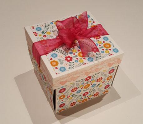 Erste Box mit Deckel