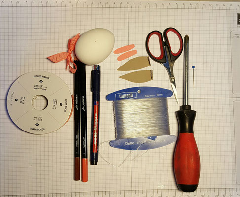 Schritt 2: Stelle dein Material zusammen