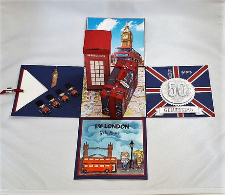 Viel London in einer kleinen Box....Gute Reise!