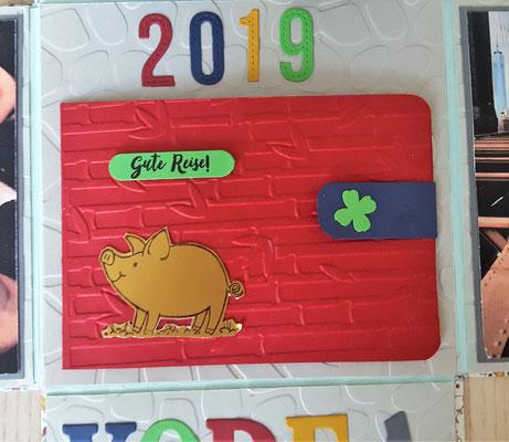 2019 ist das Jahr des Schweins und das steht für Glück und Wohlstand.