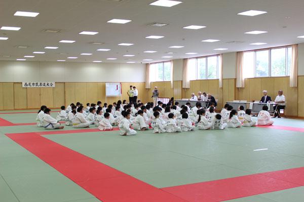 小学生の部開会式