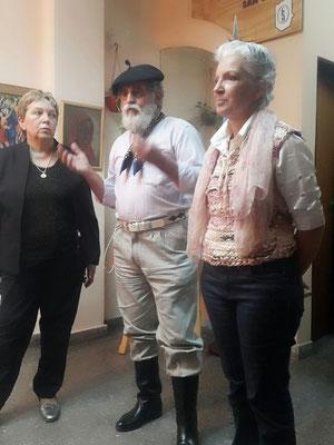 Susana de la Cruz, Omar Barea, Adriana Gutiérrez