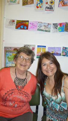 Elsa Veronelli y Nidia Peralta