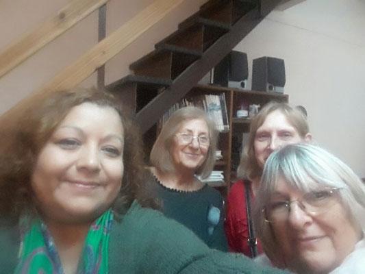Verónica Vegas, Norma Giménez, Inés Sawicz, Graciela Ratto