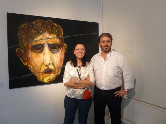 Adriana Gutiérrrez y Nestor Favre Mossier