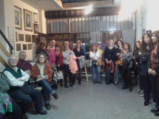 Inauguración Muestra Colectiva de AVSM e invitados