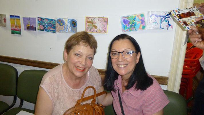 Susana de la Cruz y Adriana Gutiérrez