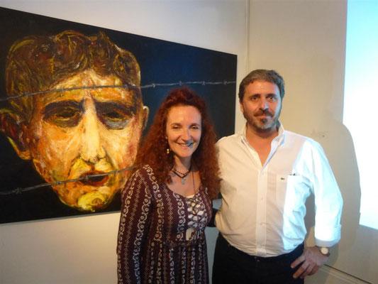 Claudia Bursuk y Nestor Favre Mossier