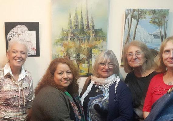 Adriana Gutiérrez, Verónica Vegas, Graciela Ratto, Norma Giménez Inés Sawicz