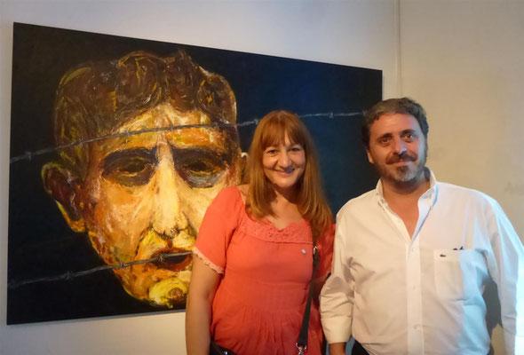 Ma.Lourdes Legaz y Nestor Favre Mossier