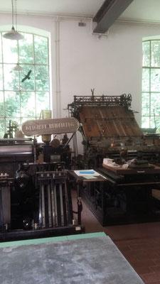 Historische Druckerei