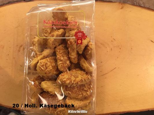 Holländisches Käsegebäck