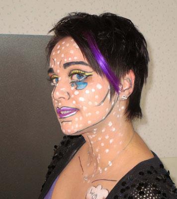 #Comic Make up