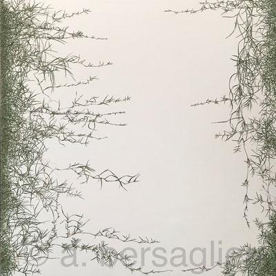 """Creep Oil on Canvas, 48"""" x 48"""" 2016"""