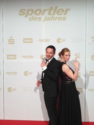 JBK @ ZDF Sportlerwahl des Jahres 2012