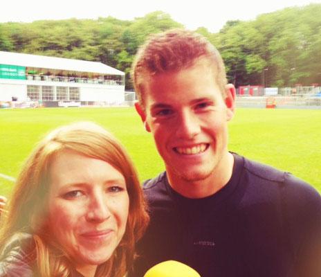 JBK & FC Keeper Timo Horn - groß, der Kleine...