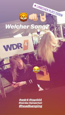 WDR4 mit Cathrin Brackmann