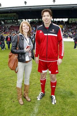 JBK & Haietrainer Uwe Krupp bei Poldi's Benefizspiel