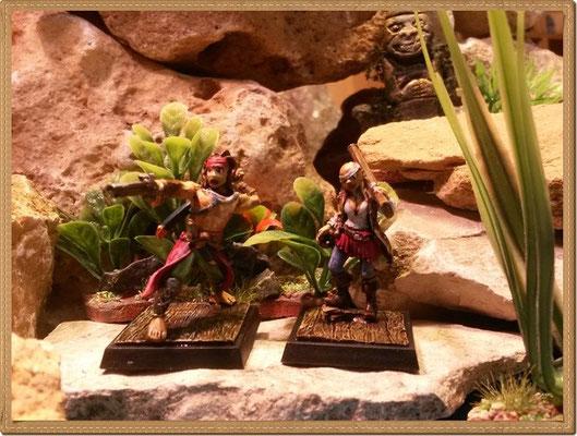 Matelot und Tiradora