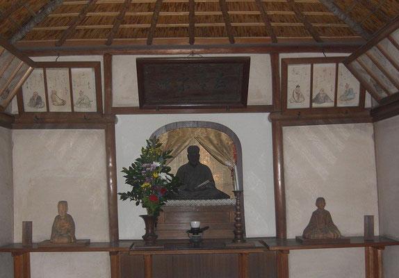 翁堂 芭蕉坐像