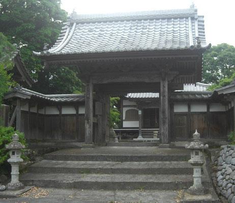 久延寺山門