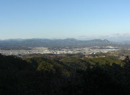 掛川方面全景