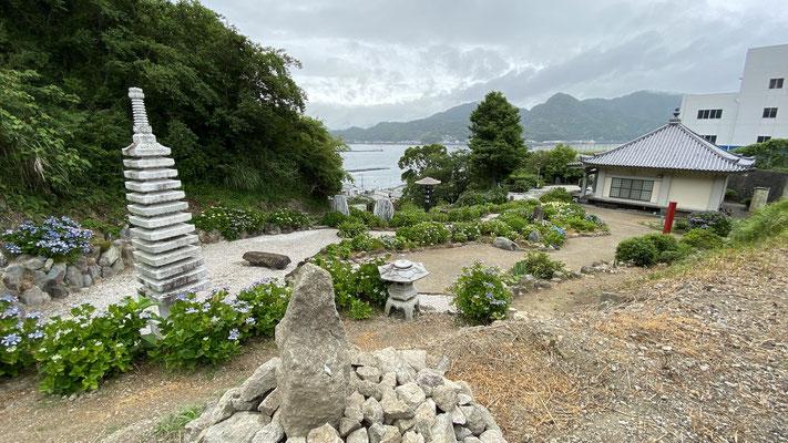 上部庭園…あじさい園の展望台からの眺め