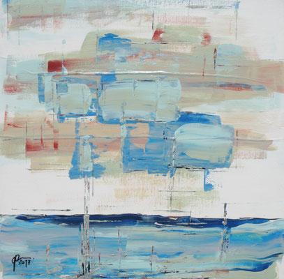2-1-2017, Acryl auf Leinwand, 40 x 40 cm, 2017