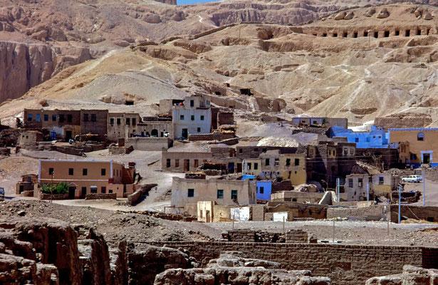 El Gurna, das Dorf auf der Westbank