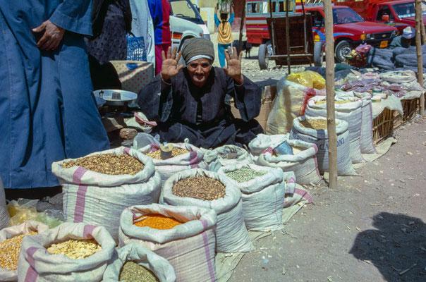 Markt in El Gurna