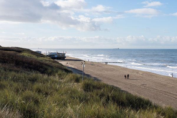 Der weite Strand Domburgs