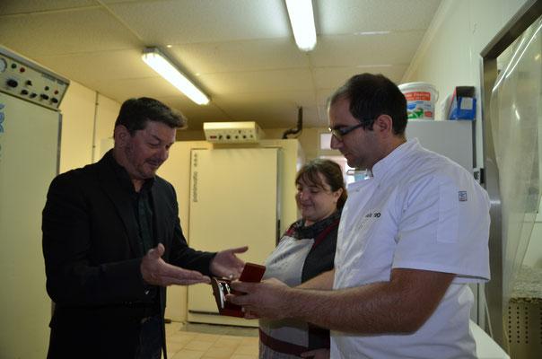 Aux délices de Montbenoît Inauguration Mai 2017