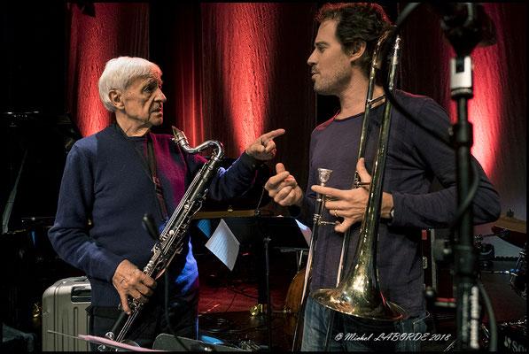 Michel Portal, Nils Wogram, Jazzdor Strasbourg 15/11/2018