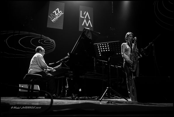 Alain Jean-Marie, Sophie Alour; Astrada Marciac 10/08/2018