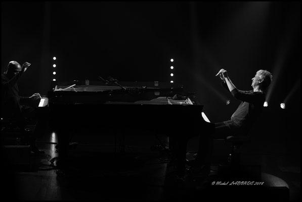 Ray Lema, Laurent de Wilde; Salle Nougaro Toulouse 25/01/2018